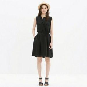 Madewell Silk Journey Shirtdress